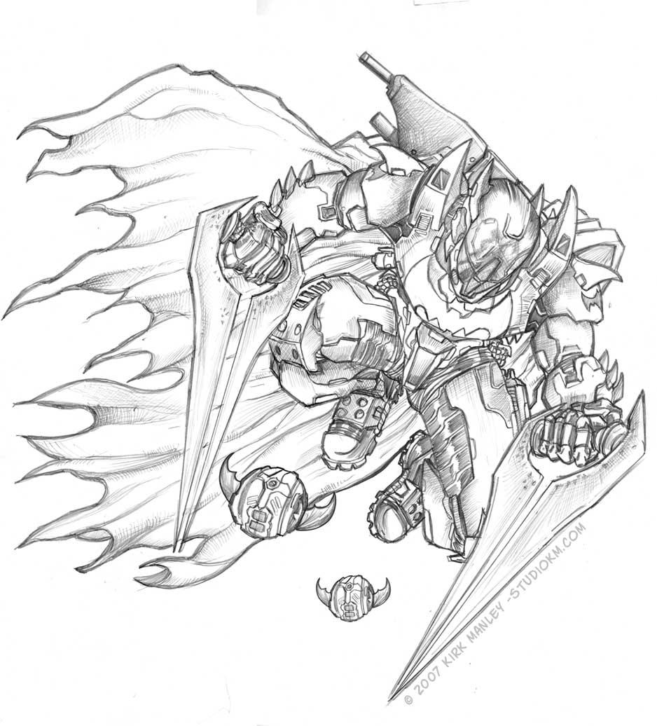 dark knight halo 3 spartan