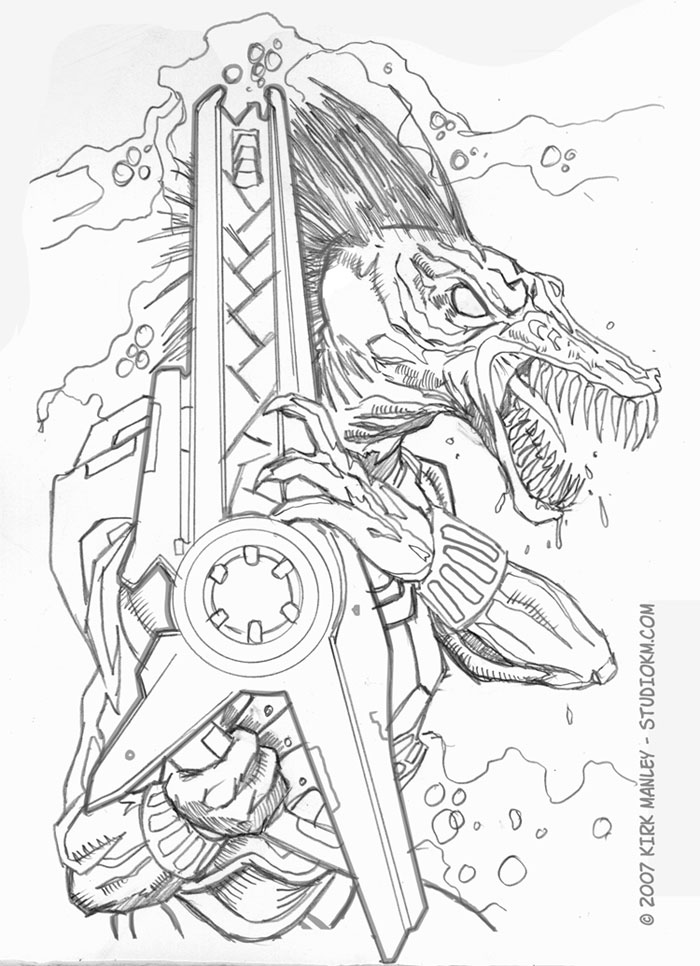 Halo flood coloring pages sketch coloring page for Flood coloring pages